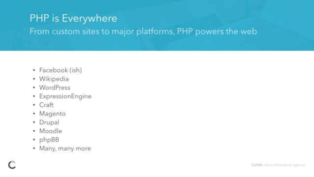 Powering the Modern Web with PHP