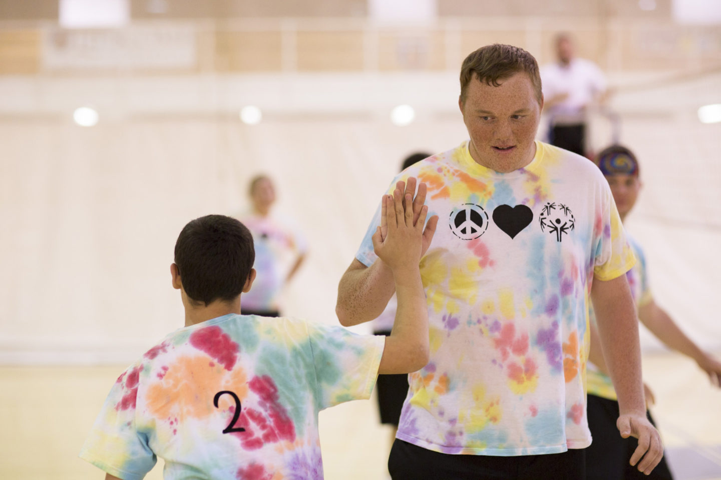 Special Olympics Volleyball
