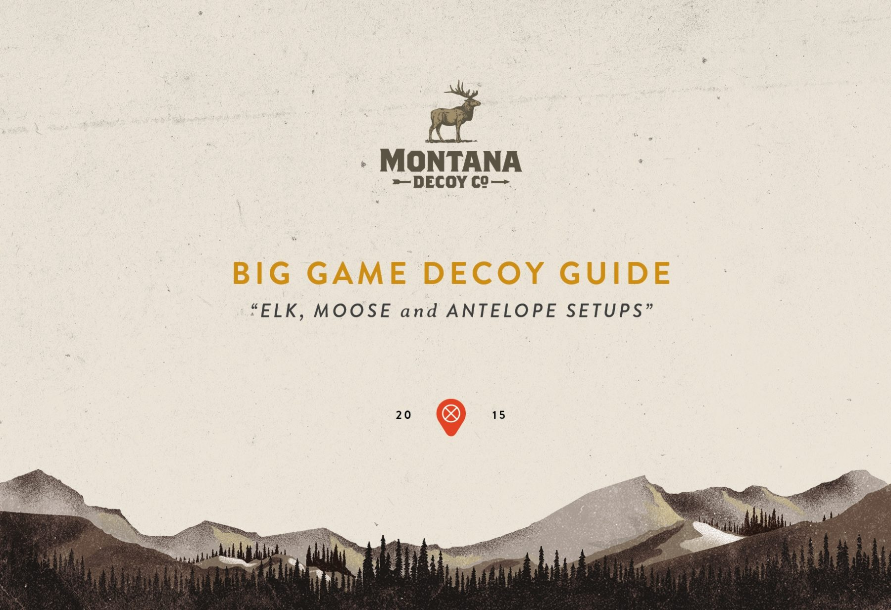 Montana Big Game Guide 2015