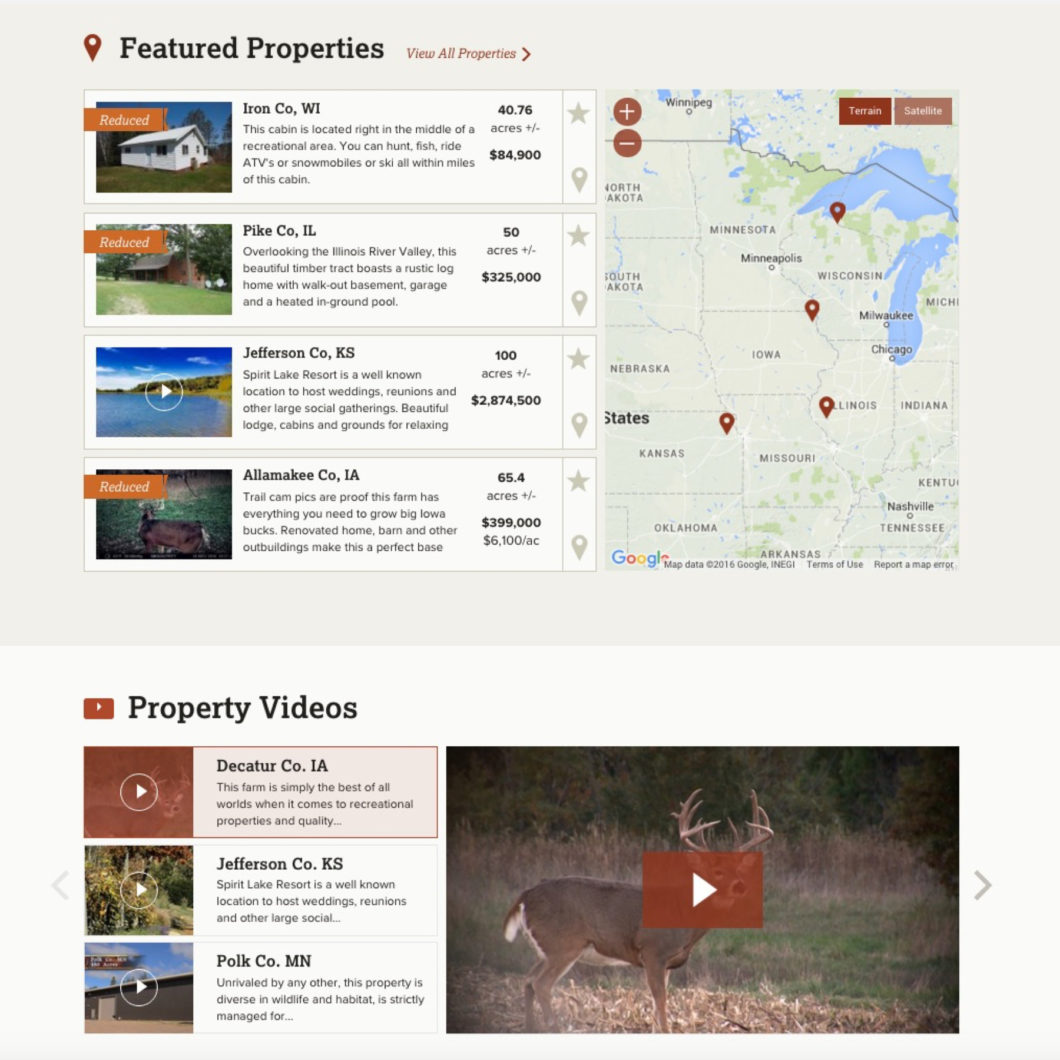 Whitetail Web Design Right